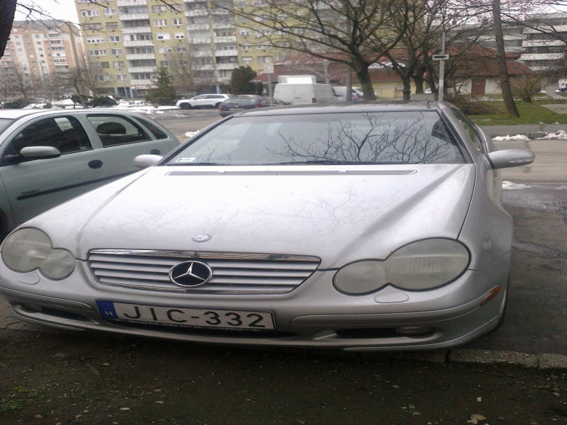 Mercedes-Benz C 230  K  COUPE 2002-12-01